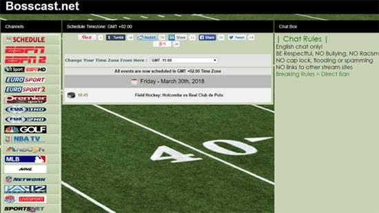 streaming de sports gratuits